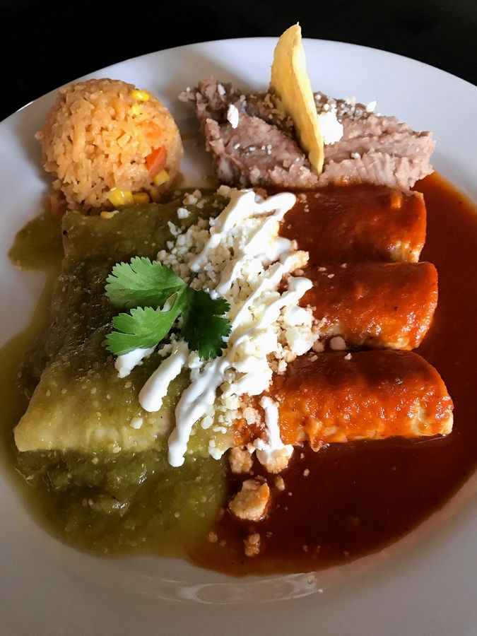 Casa Rubi-os Mexican Kitchen & Bar in Huntley, which is set to open soon, will serve enchiladas.