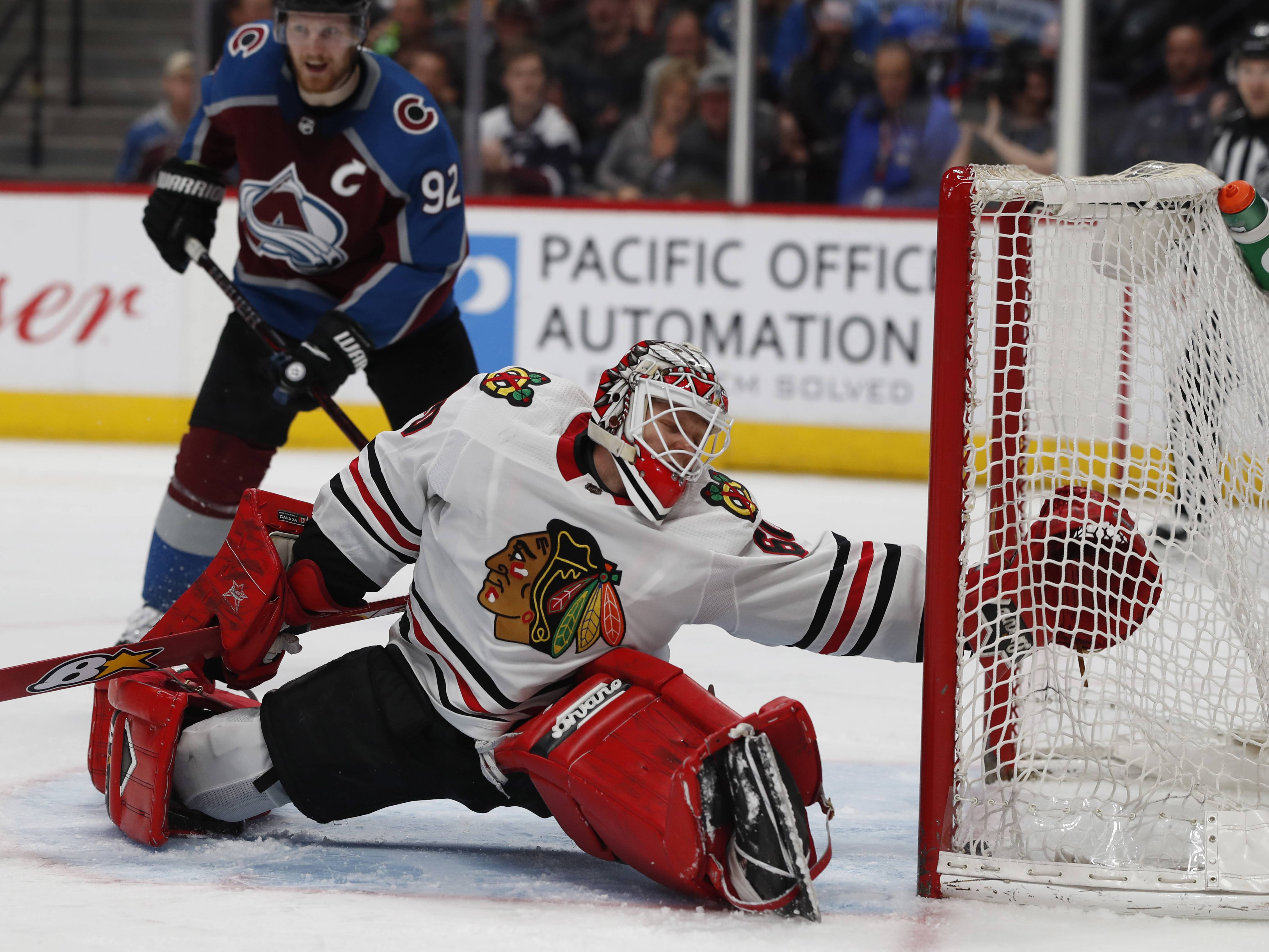 Blackhawks goalie Collin Delia says he prefers to go about his job with a one-day-at-a-time attitude.