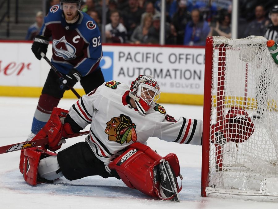 How Blackhawks Goalie Collin Delia Went From Playing Roller Hockey