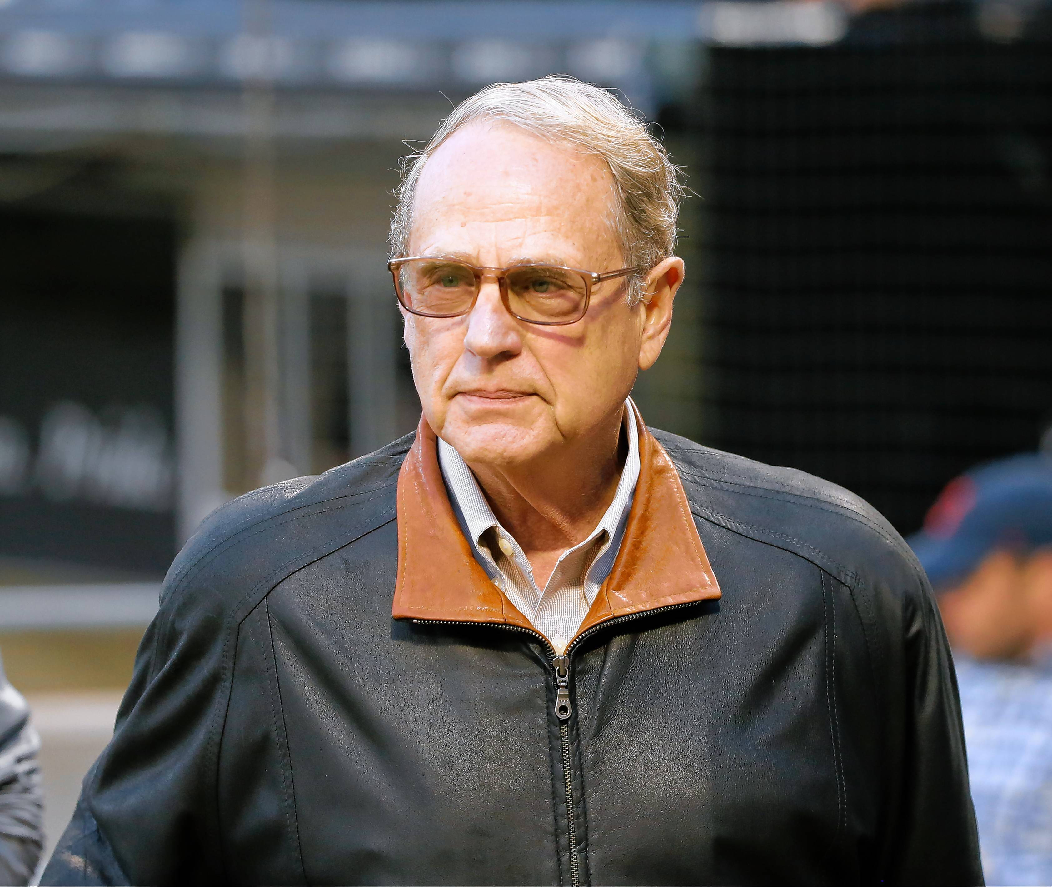 White Sox and Bulls Chairman Jerry Reinsdorf.