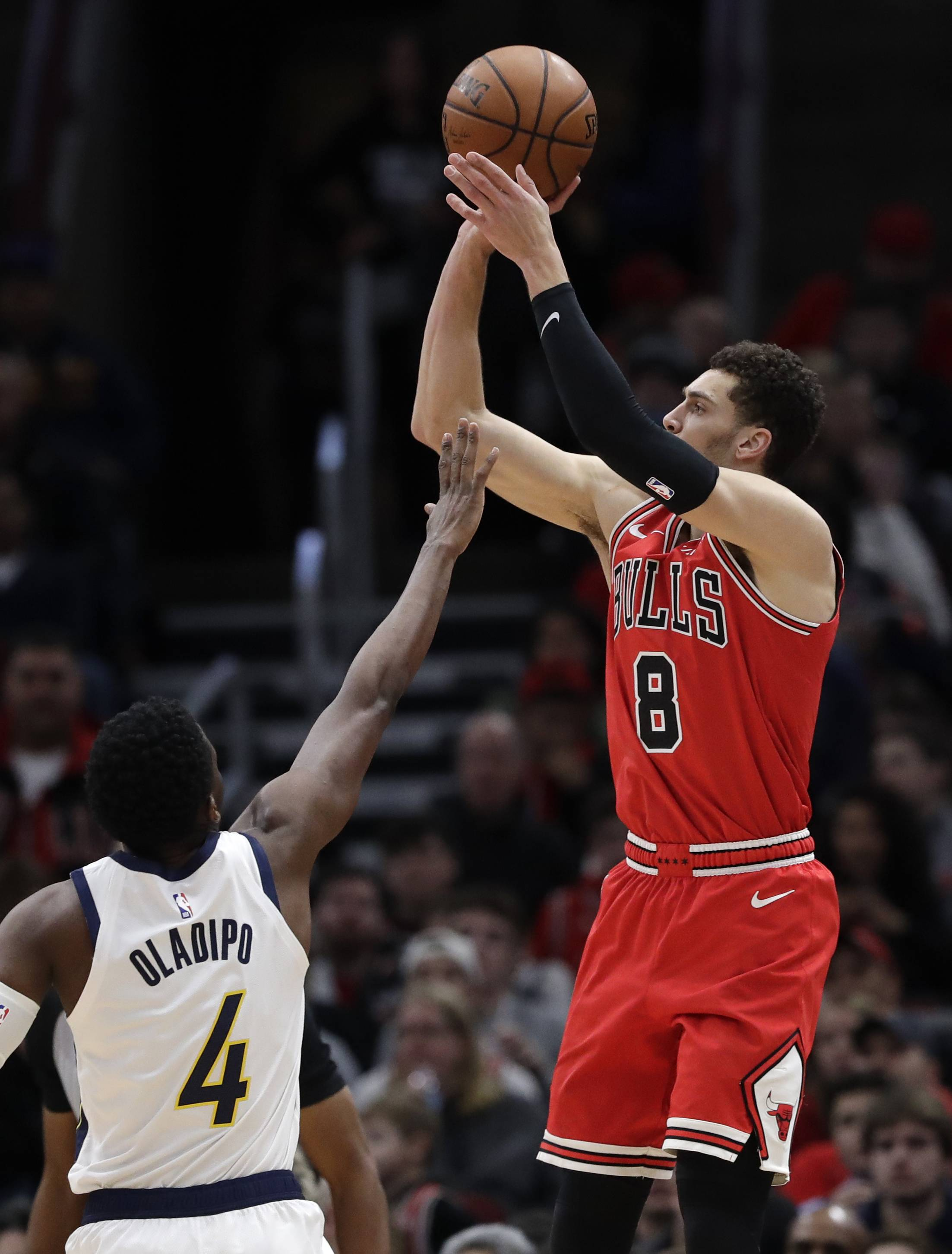 Bulls fall one short in battle of clutch shots vs. Pacers