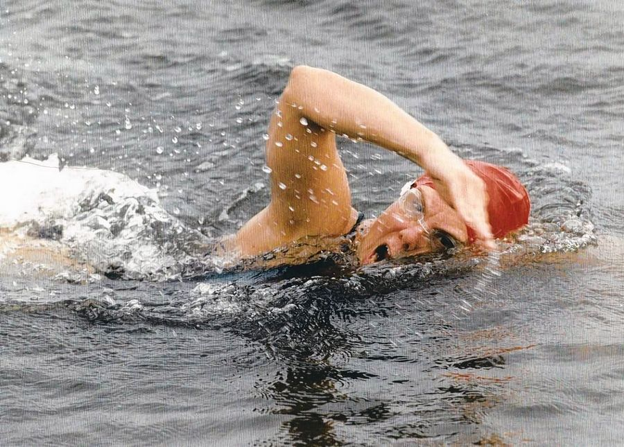 In a feat more rare than climbing Mount Everest, Marcia Cleveland swam the English Channel in 1994.