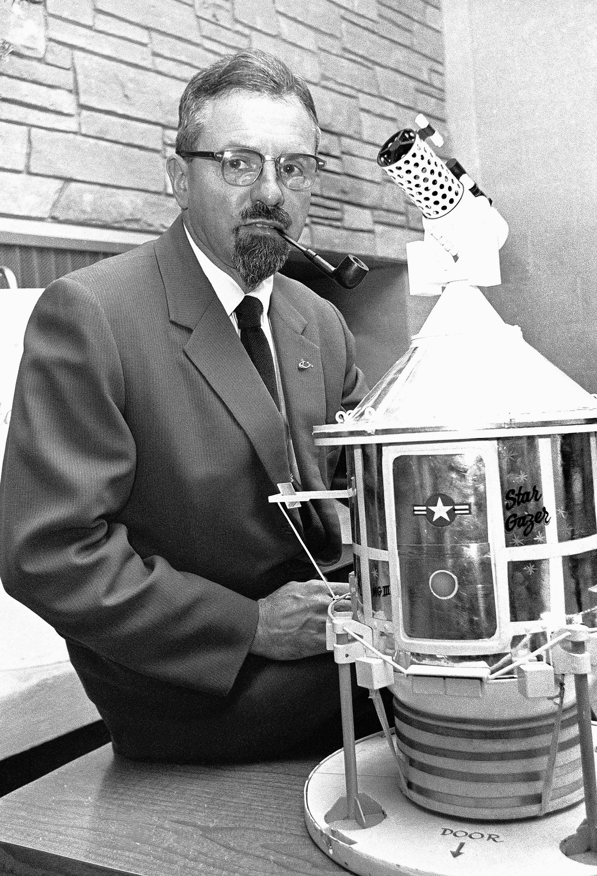 "Northwestern University astrophysicist J. Allen Hynek founded the Center for UFO Studies. His research inspired the History channel drama series ""Project Blue Book."""