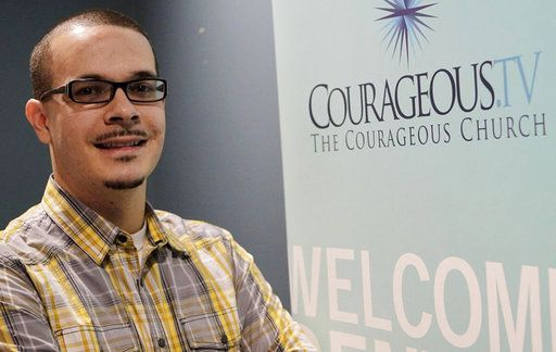 65b56f13 FILE - In this undated file photo, Shaun King poses where he was the lead