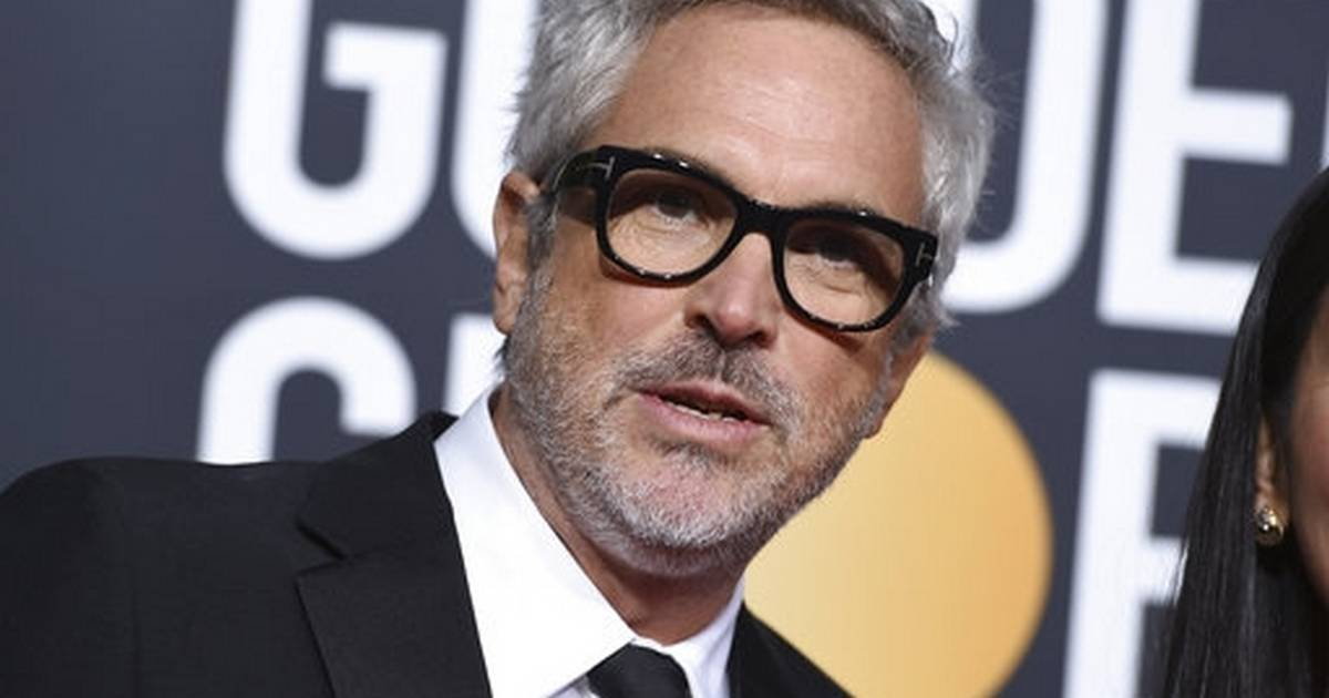 Alfonso Cuaron and his film 'Roma' win at Golden Globes