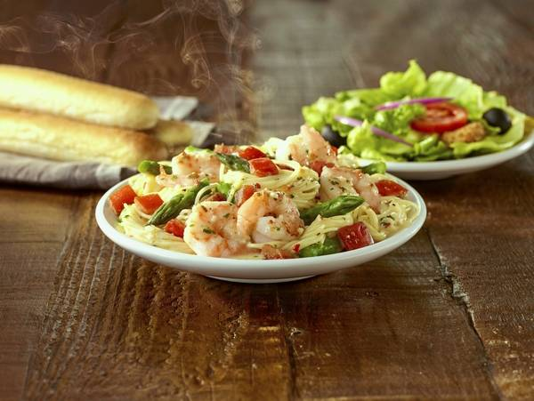 Dining Out Olive Garden Goes Lighter With Tastes Of Mediterranean Menu