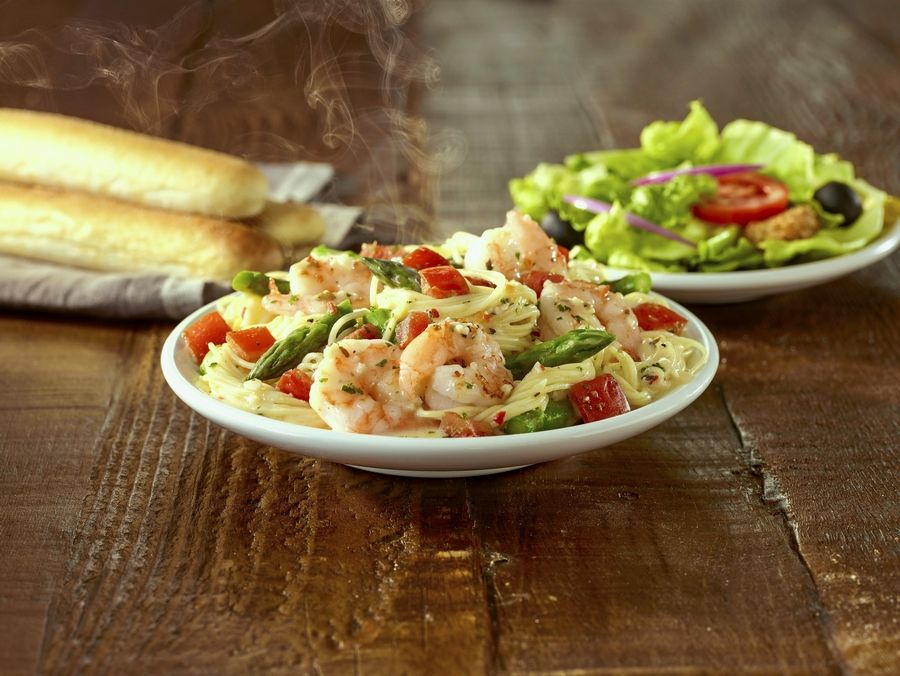 Dining Out Olive Garden Goes Lighter With Tastes Of Mediterranean