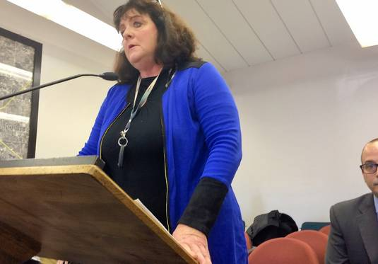 Barrington Hills trustee candidate Linda H. Cools fended off an effort to have her removed from the spring ballot, in part over claims she had too many signatures on her nominating petitions. She spoke to the Barrington Hills electoral board Tuesday.