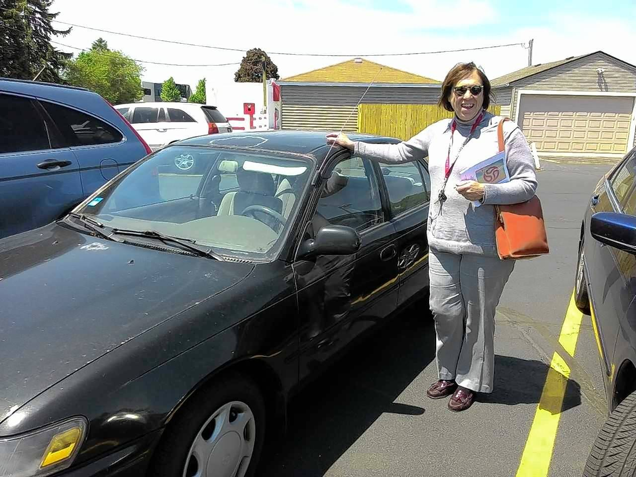 """Mary found that job hunting without a car was a hard thing to do; having spent over a year looking for work she was close to exhausting her savings,"" said Frank Hauser, founder of the Good News Garage at Trinity Lutheran Church in Des Plaines. ""We gave her a car to travel from the city out to the suburbs where she was able to find work."""