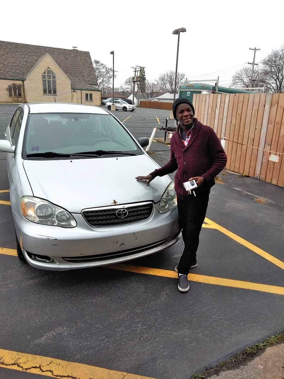 """Pastor Fred Paul was going back to Haiti to help with reconstruction but needed transportation to get around and to deliver supplies,"" Frank Hauser said. ""We found him a car with seats that fold down flat, allowing him to fill the trunk and car front to back."""