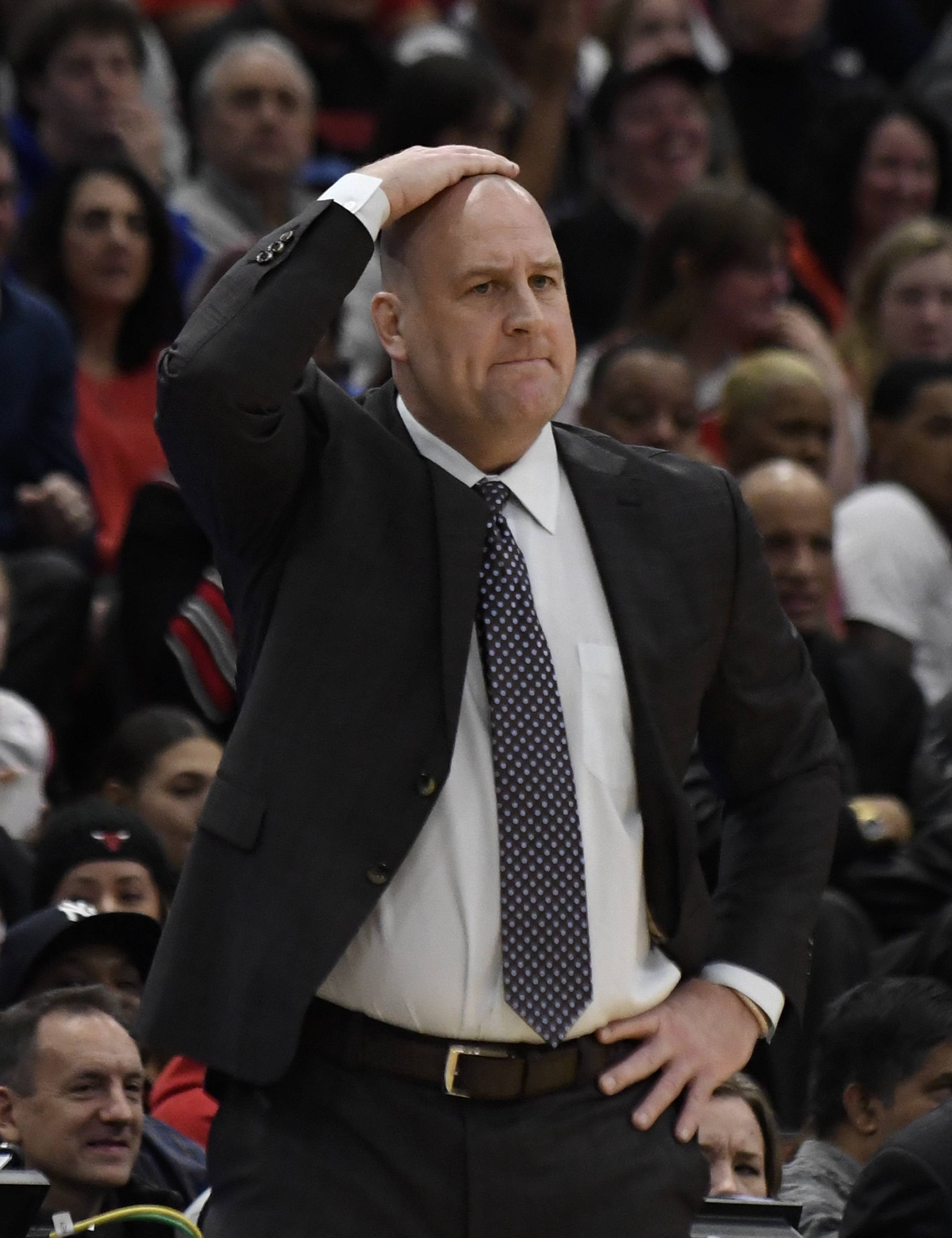 Bulls coach Jim Boylen is using drills he learned from Jud Heathcote at Michigan State 30 years ago to help guard Shaq Harrison improve his scoring skills. They worked for Magic Johnson, according to Boylen.