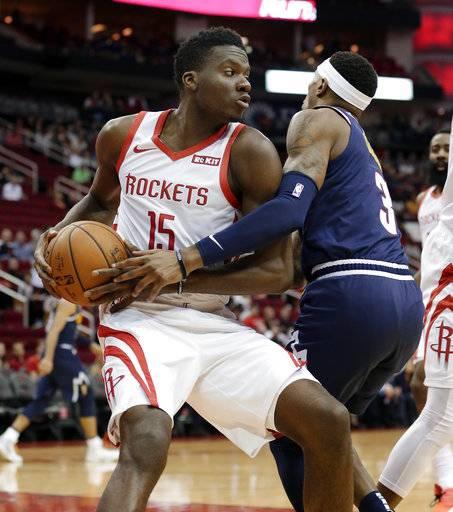 Harden, Capela Help Rockets Over Nuggets 125-113