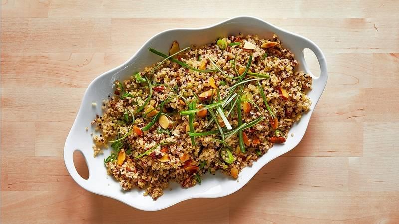 Quick Quinoa Pilaf.