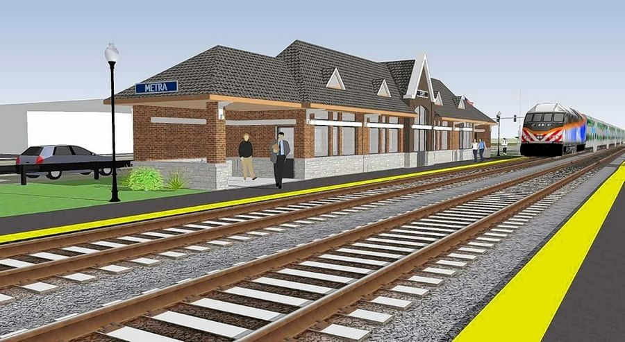 The village of Cary soon will begin construction of its new Metra station in downtown, funded primarily through a $2 million federal grant and village revenues. The building's foundation will be poured within the next week or so. Officials plan for the station to be ready for use this fall.