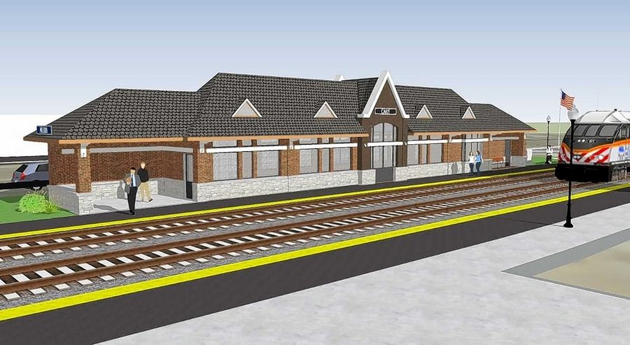 Once Cary's new Metra station is finished, the old building will be demolished.