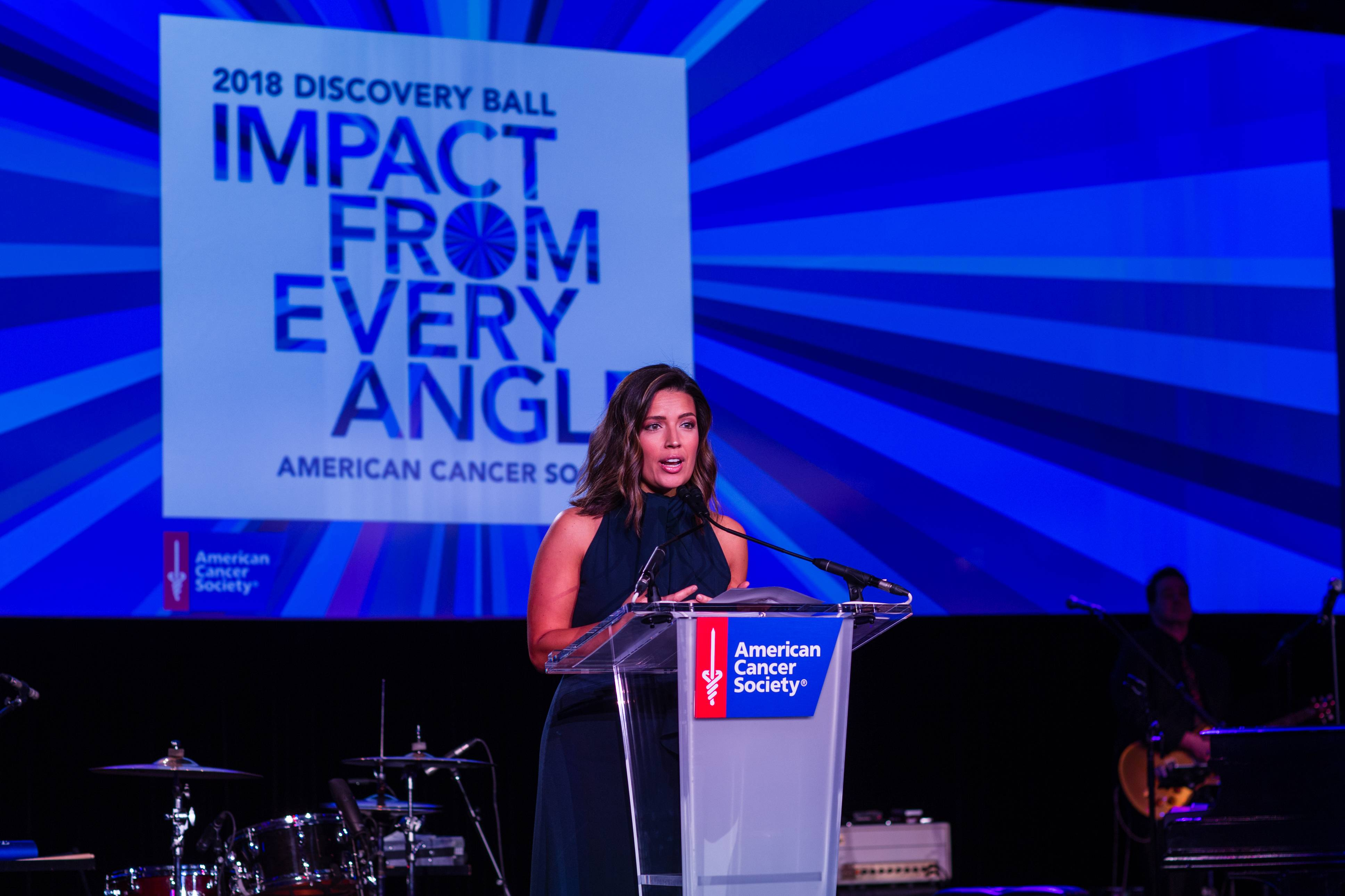 ABC 7's Tanja Babich serves as the emcee for the 2018 Discovery Ball. The ball, now in its 13th year, is set for Saturday, April 27, at the Hilton Chicago.
