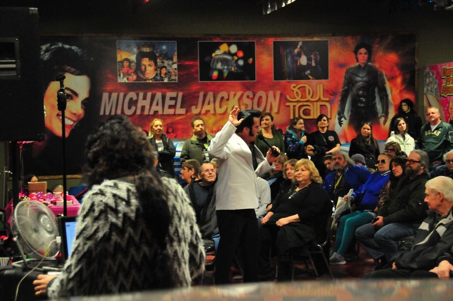 World champion Elvis tribute artist Travis Morris entertains the crowd attending the 2018 Elvis birthday celebration at Volo Auto Museum. Morris returns Saturday, Jan. 12, for two shows, one at noon and another at 3 p.m.Richard Coyne Schultz