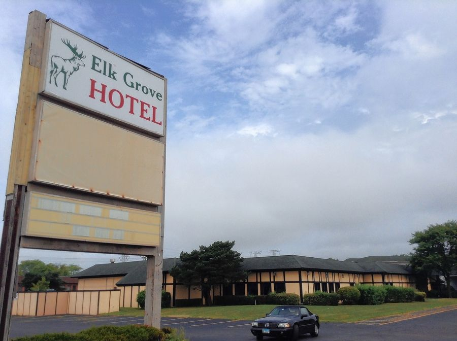 The shuttered Elk Grove Hotel at 1600 E. Oakton St. will be cleaned of asbestos and other waste ahead of its planned demolition next month.