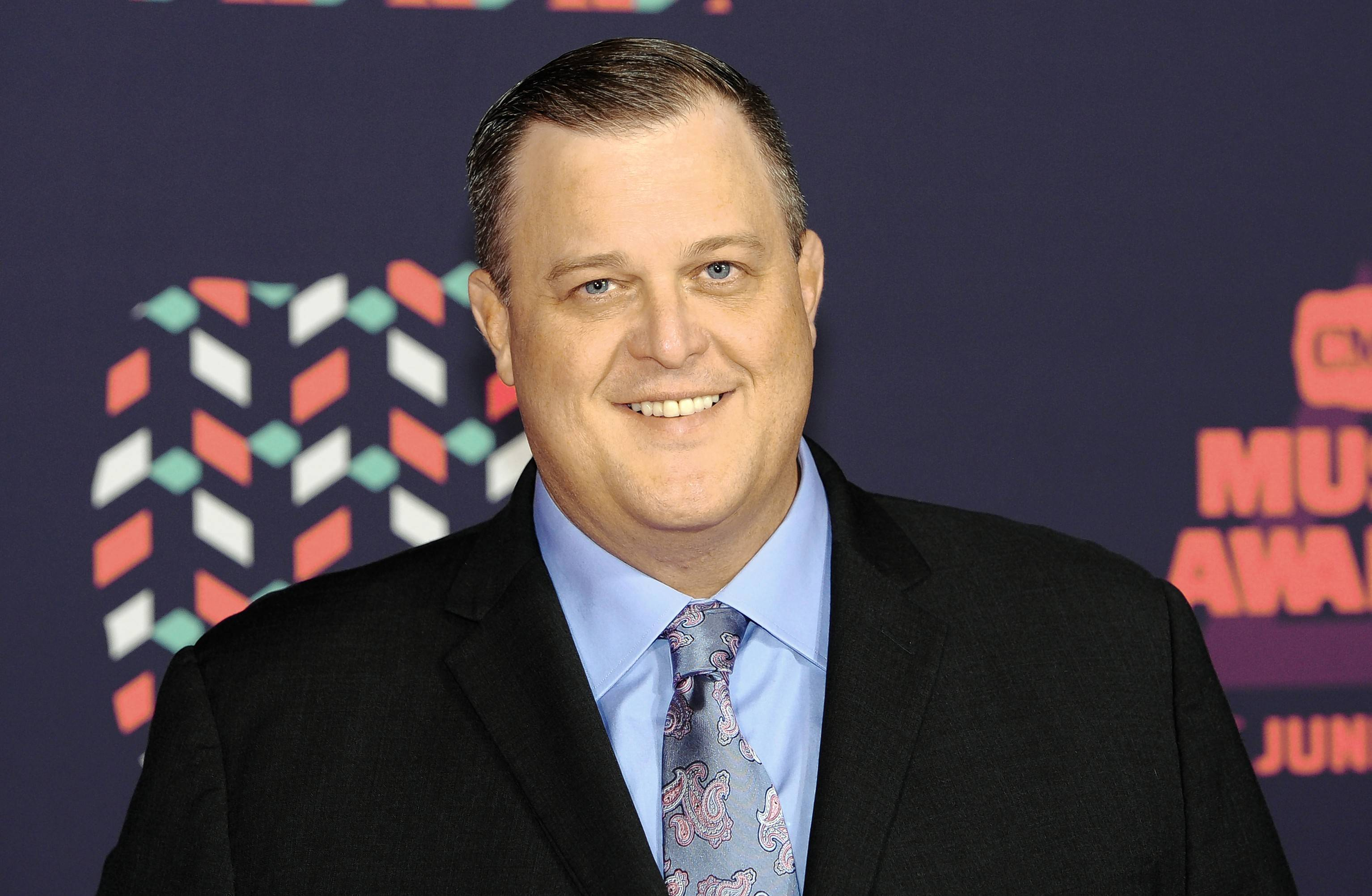 Billy Gardell performs at the Genesee Theatre in Waukegan on Saturday, Jan. 12.