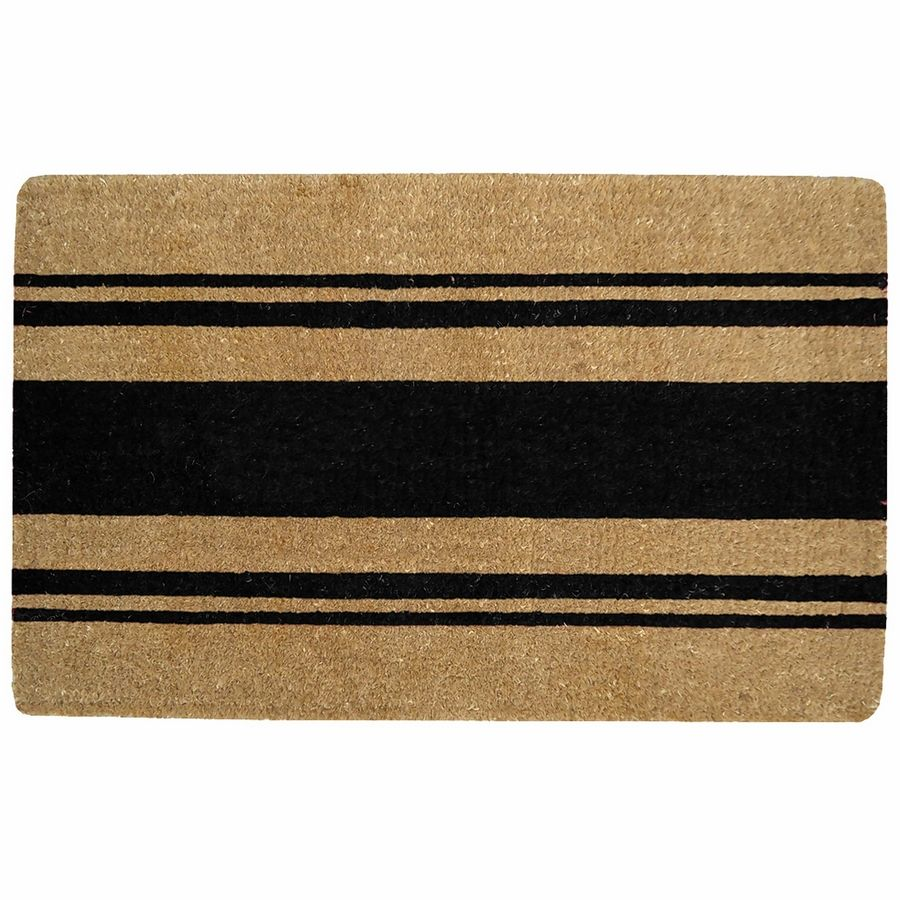 Williams-Sonoma's French stripe doormat ($59.95) is preferred by the Chicago-based co-founders of Everygirl Media Group.
