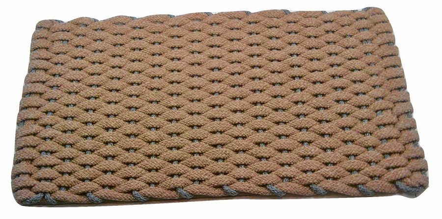 Rockport Rope's doormats come in a variety of sizes, with costs ranging from $39.99 to $389.99.