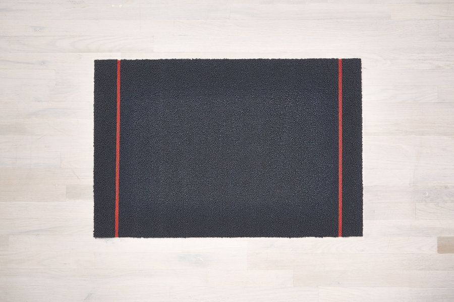 The latest design from Chilewich is the Simple Stripe doormat, $52.