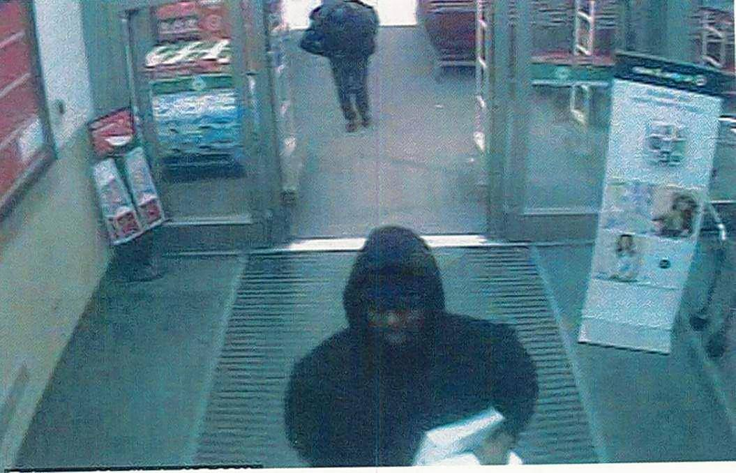 This is one of the three men police say stole about 50 Apple products from a Schaumburg Target on Thursday night.