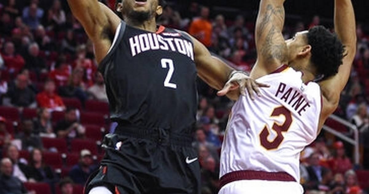 45aa2d894b5 Harden has triple-double to lead Rockets over Cavs 141-113