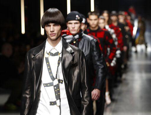 b453e3ff502e Versace offers daring masculinity  Dolce Gabbana go elegant