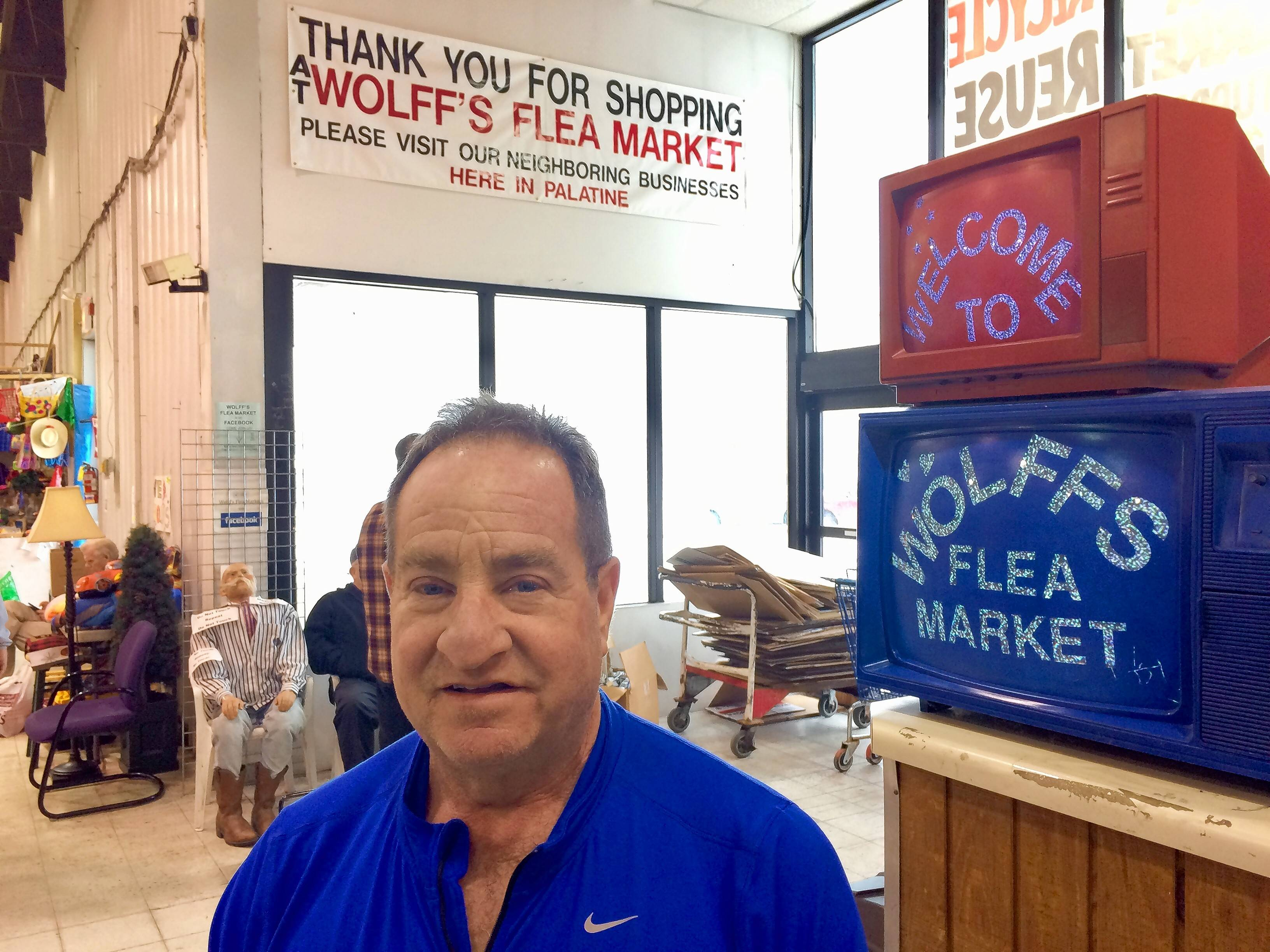 Wolff's Flea Market is heading toward its final two weekends of operation at a former Menards on Rand Road in Palatine. Co-owner Don Wolff says he'll miss being in Palatine.