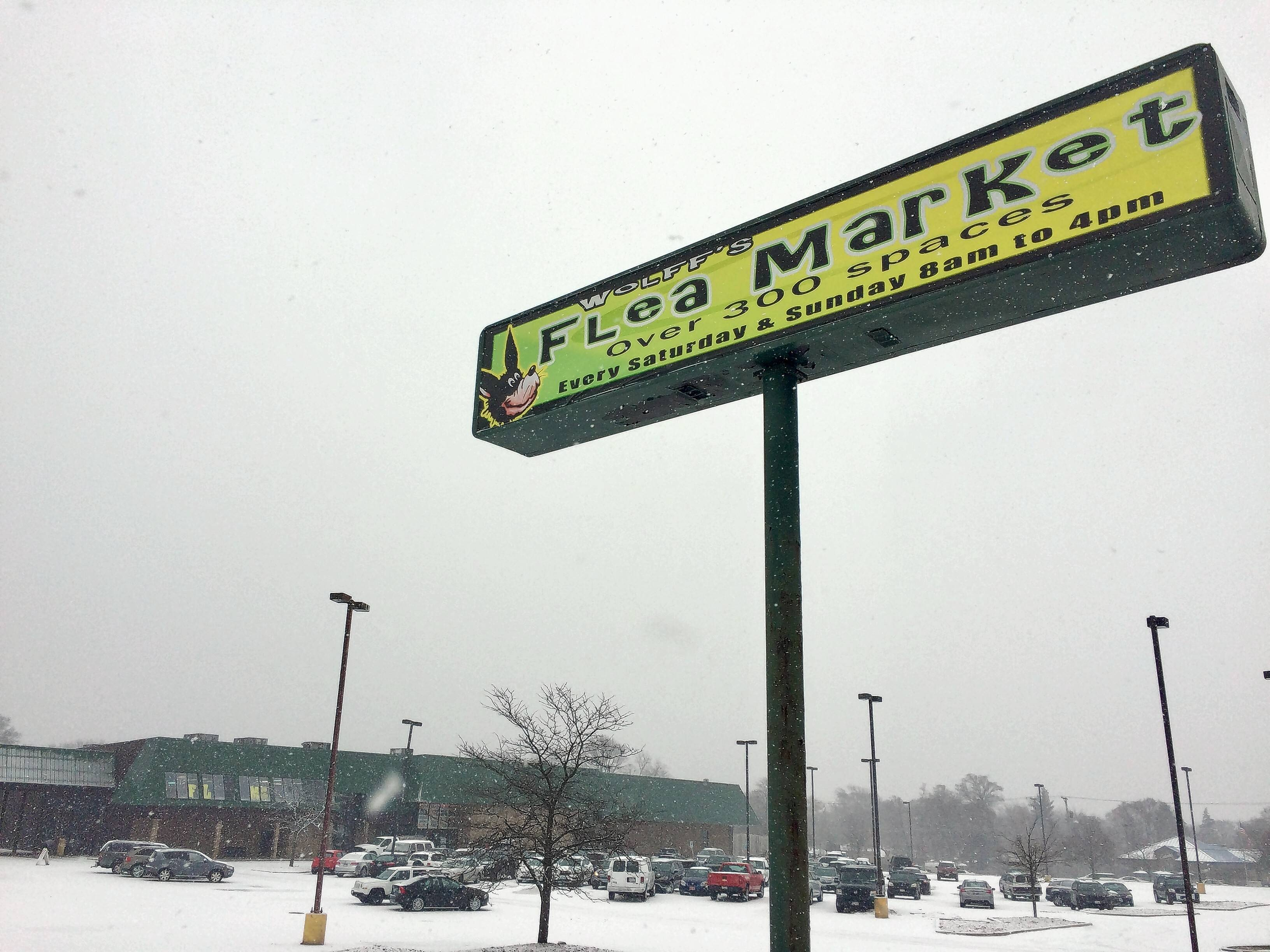 Wolff's Flea Market is heading toward its final two weekends of operation at a former Menards on Rand Road in Palatine. The Rand Road building soon will be demolished so Napleton's Automotive Group can move two dealerships from Arlington Heights to the property.
