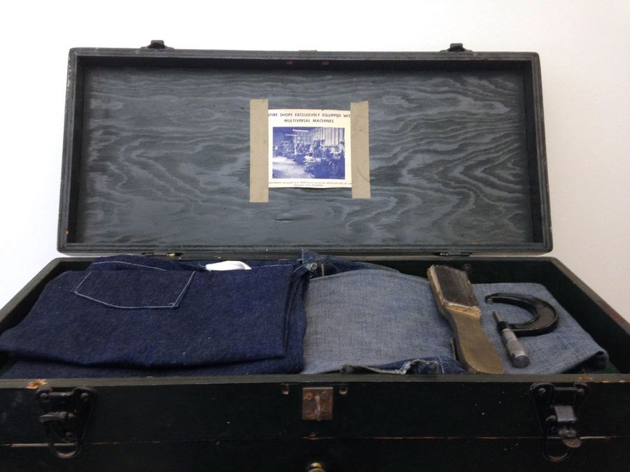 This Frank G. Hough Co. toolbox was made and used by John A. Rasmussen, circa 1940. It recently was donated to the Bess Bower Dunn Museum of Lake County.