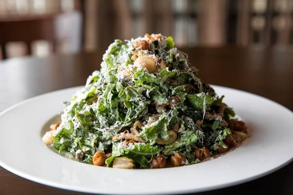 Tuscan kale salad is among the Chicago Restaurant Week first-course options at Saranello's in Wheeling.