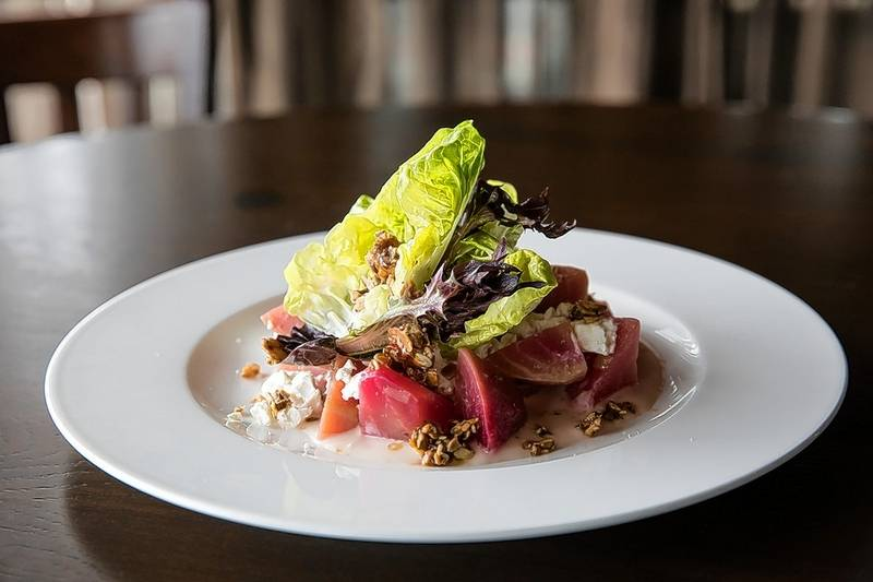 Beet salad is on the Chicago Restaurant Week prix fixe menu at Saranello's in Wheeling.
