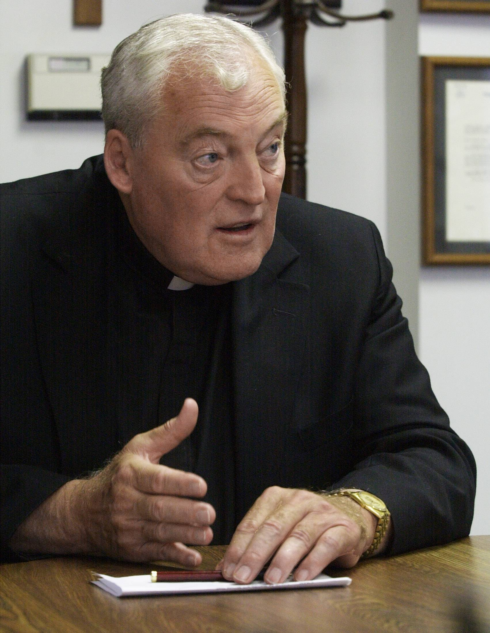 The Rev. John Smyth has been accused of sexually abusing minors during the end of his tenure as leader of Maryville Academy in Des Plaines, Archdiocese of Chicago officials said Friday.