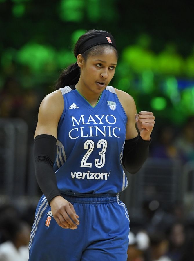 Will Minnesota Lynx forward Maya Moore sit out the 2019 WNBA season due to fatigue? Time will tell.