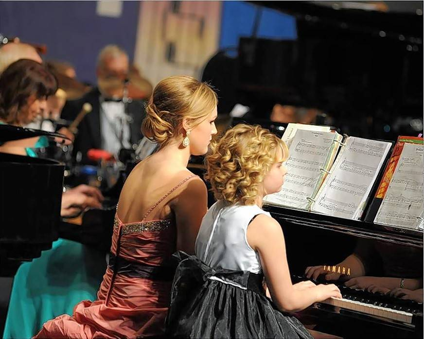 Dozens of pianists will perform on 12 grand pianos at the American Grands XXIV concerts on Saturday, Jan. 26, at the Elgin Community College Arts Center.