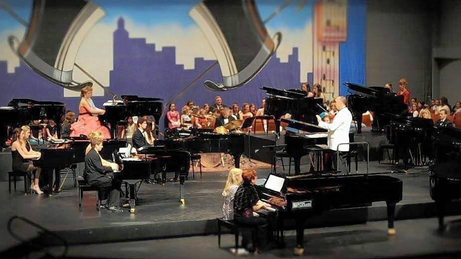 "On Saturday, Jan. 26, the American Grands XXIV concerts will feature two previously commissioned pieces ""Ode to a Bass Player"" and ""Groove Town"" by composer Kevin Olson."