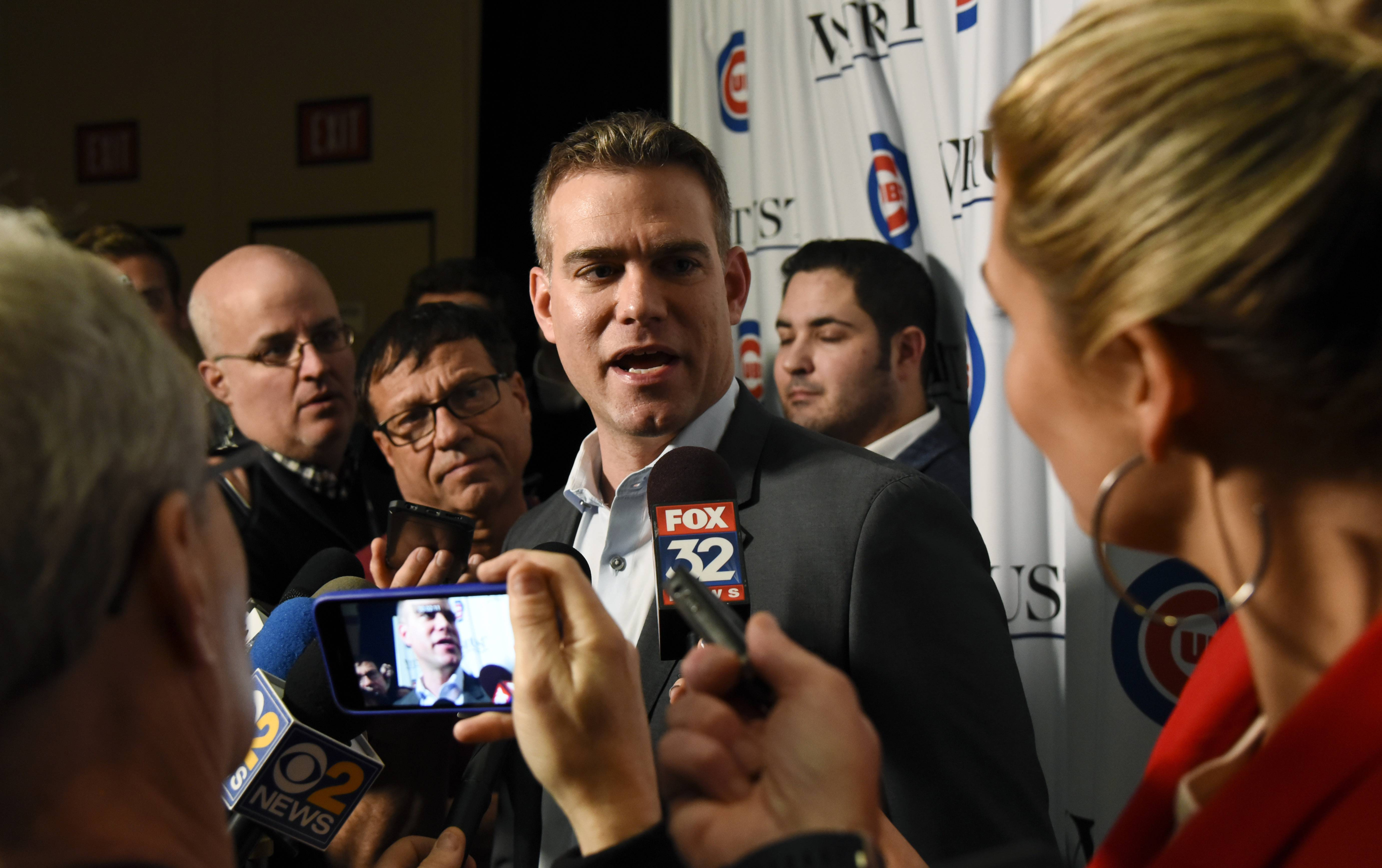 The Chicago Cubs fan convention opened Friday, and team president Theo Epstein said he has heard loudly and clearly the concerns of the fans this off-season.