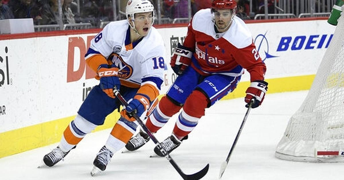 a2966786ffb Islanders beat Caps in Trotz's return, move into first place