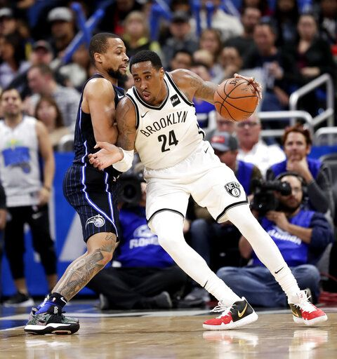 Russell Scores 40 As Nets Come Back To Beat Magic 117 115