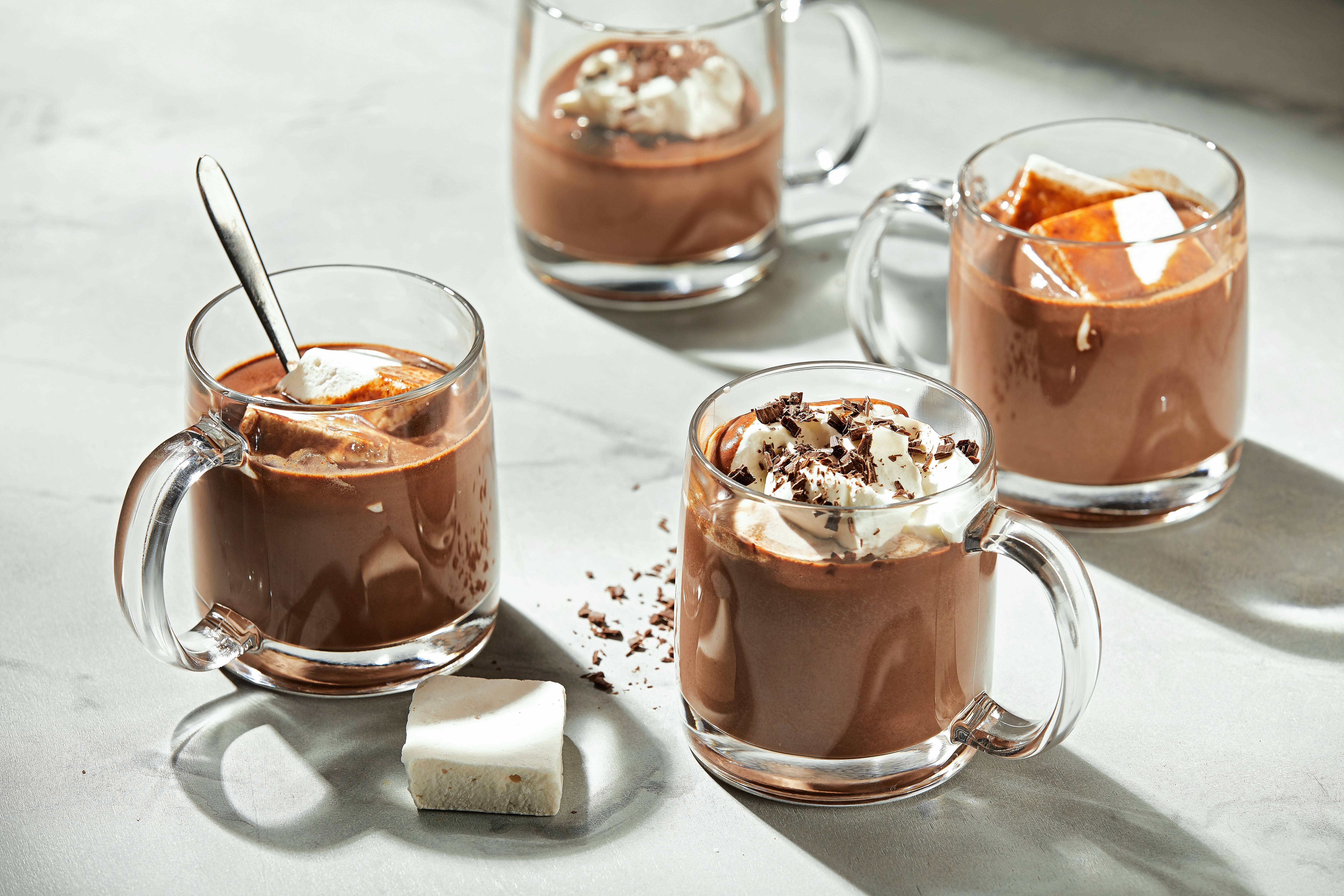 Triple Hot Chocolate. If you have any leftovers, reheat on the stove or in the microwave.