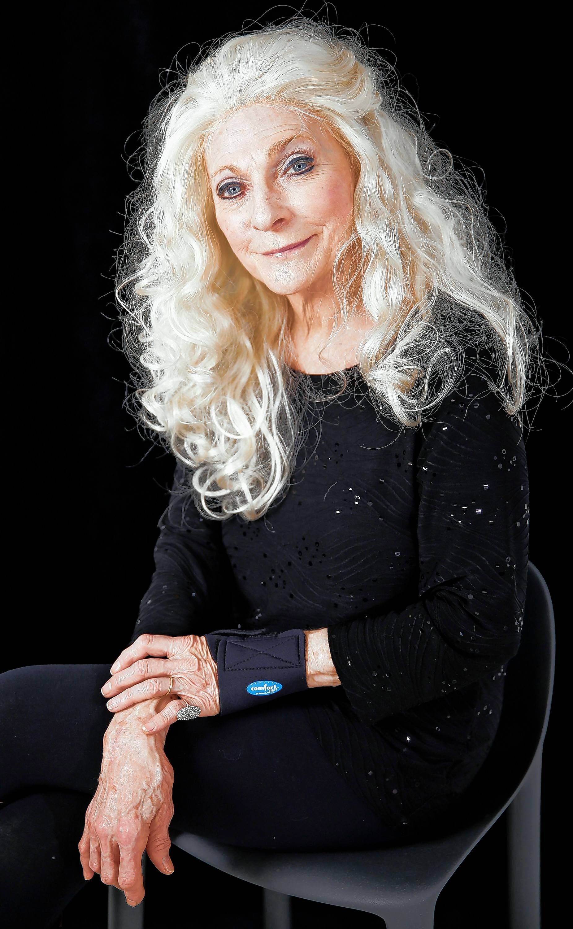 Judy Collins performs at the Raue Center for the Arts in Crystal Lake on Saturday, Feb. 16.
