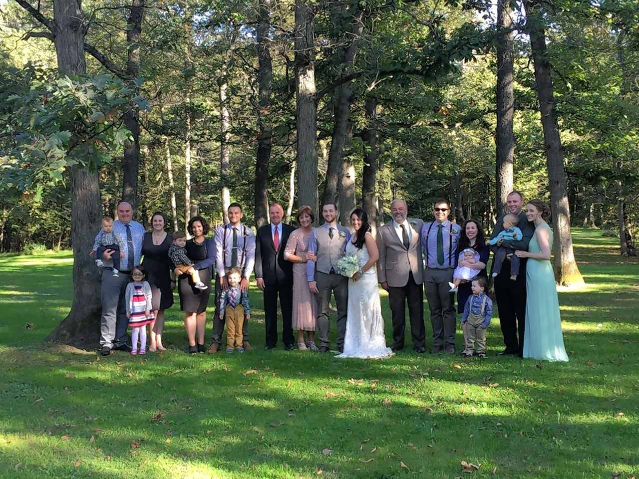 Gary Christenson, who died Jan. 13, had a deep love for family. Here is the entire family at his son Josh Christenson's wedding in 2016.