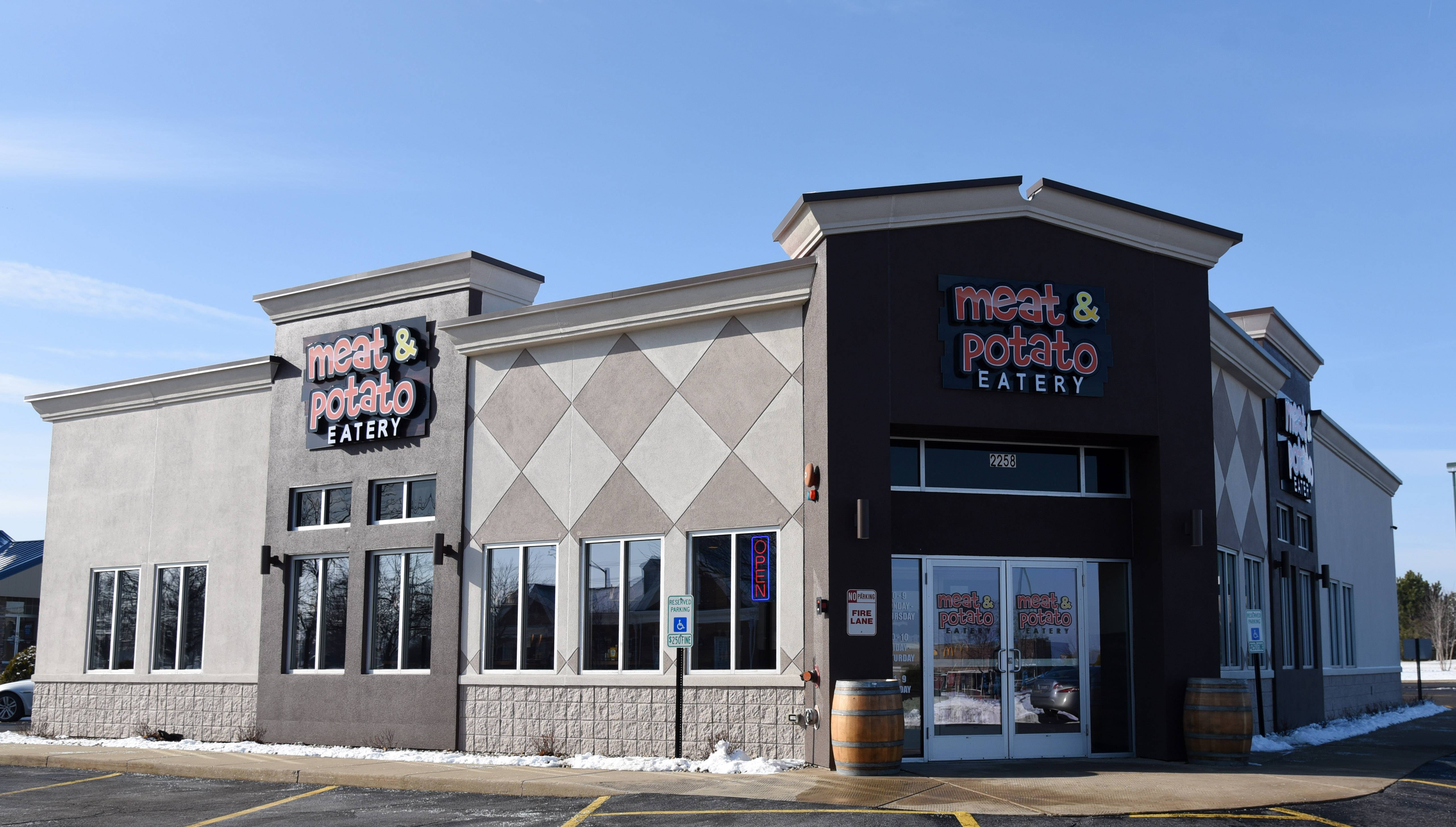 Meat & Potato Eatery, which last year opened this location in Carpentersville, received approval this week to open its fourth suburban restaurant in the Wheeling Town Center.
