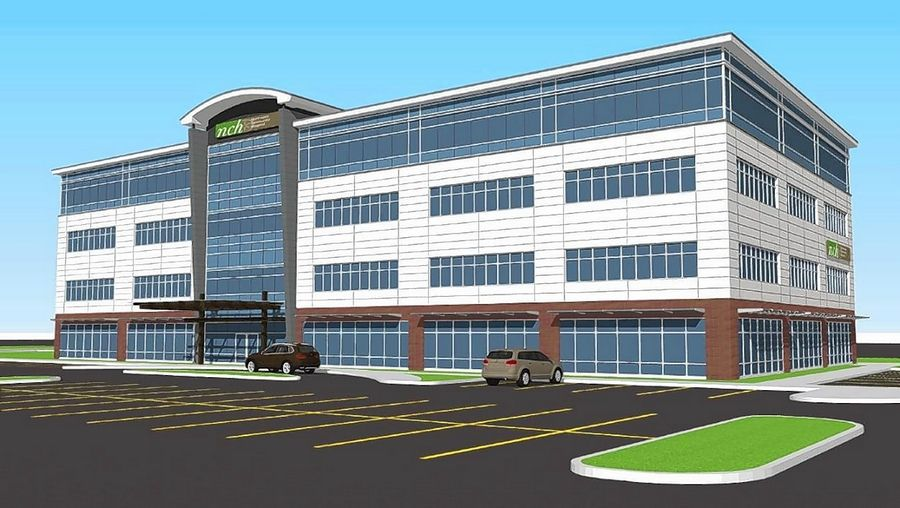 Buffalo Grove officials viewed plans Tuesday for a proposed four-story, 70,000-square-foot medical office building to host Northwest Community Healthcare. The new facility would replace existing NCH buildings at Weiland, Lake-Cook and McHenry roads.