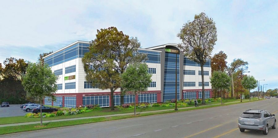 A proposed four-story medical office building in Buffalo Grove would feature an immediate care center, radiology facilities and space for physical therapy. Construction could begin this summer.