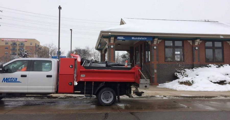 Mundelein's commuter rail station is in an area the village wants to develop into a town center. The village is partnering with the RTA to find possible funding sources to grow ridership on Metra's North Central Service.