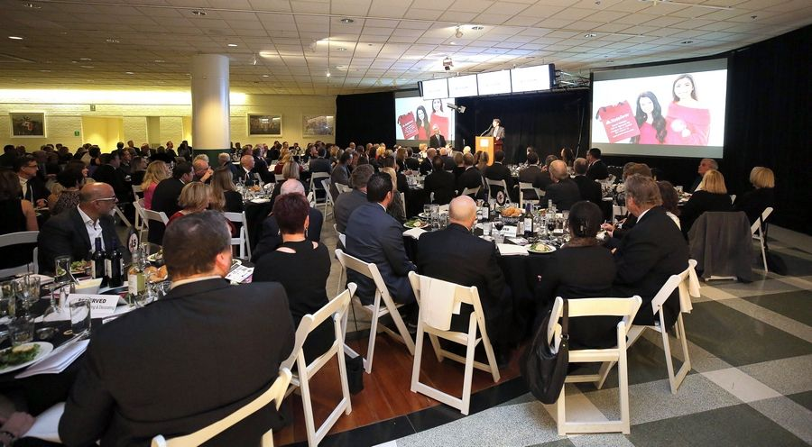 Some 250 members of the Arlington Heights Chamber of Commerce attended the organization's 72nd annual awards and recognition gala Friday at Arlington International Racecourse.