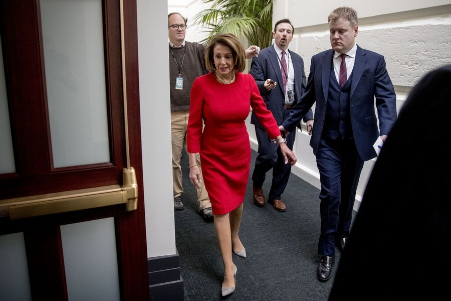 A social media post falsely claimed House Speaker Nancy Pelosi was taking 93 family members along on a trip to Afghanistan to visit troops, which President Donald Trump canceled.